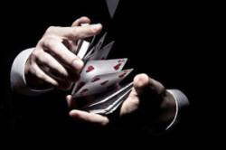 Zauber Kartentricks