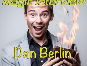 Zauberinterview mit dem Magier Dan Berlin